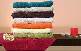 Khăn tắm màu Cotton