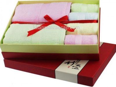Hộp khăn quà tặng
